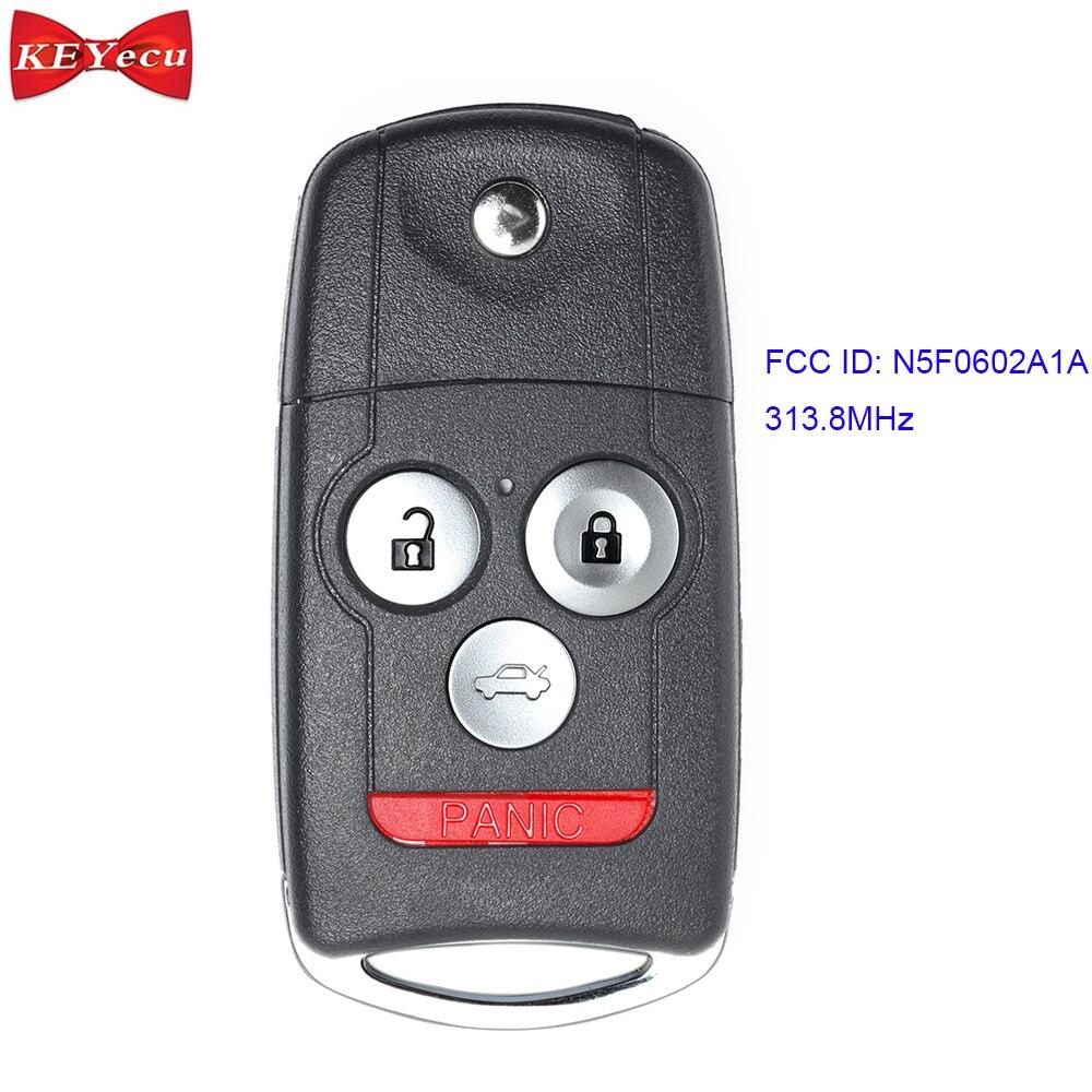 KEYECU For Acura MDX RDX 2007 2008 2009 2010 2011 2012