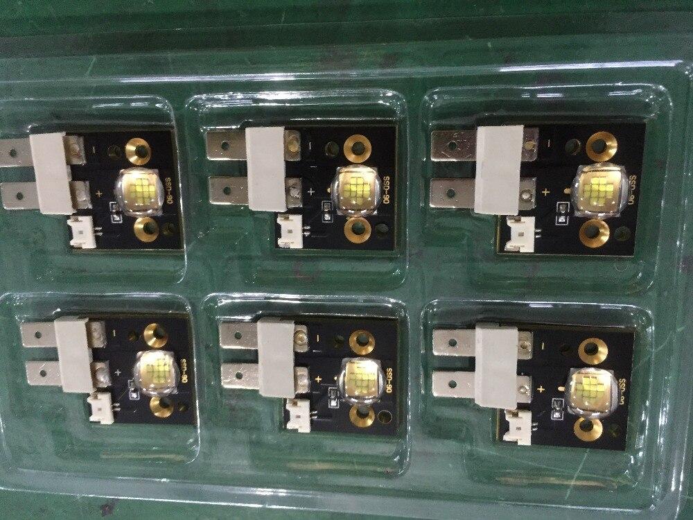2PCS high brightness 90W led moving head light source 8000~8200k color temperture for 90w led 4pcs lot 90w led modules 6500k 8000 lumens ssd 90 cbt 90 sst 90 for 90w led moving head