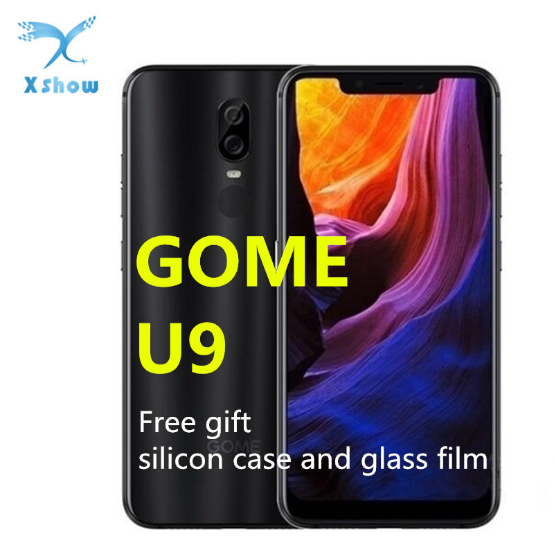 GOME U9 6GB 64GB-ROM GSM/WCDMA/LTE Adaptive Fast Charge Octa Core Fingerprint Recognition/face Recognition