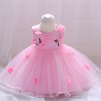 ABGMEDR Brand 0 2 Yrs Little Girls Dress Newborn Baby Girls Dress Baby Girls Clothing Kids 3 6 9 12 15 18 24 Months Clothes 2018