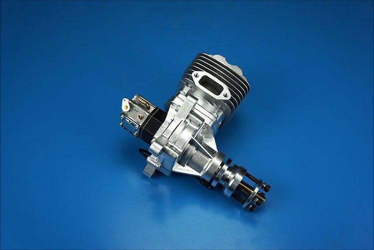 Dle61 rc 비행기 가솔린 엔진 단일 실린더 2 행정 측면 배기 자연 바람 냉각 손 시작 61cc 변위-에서부품 & 액세서리부터 완구 & 취미 의  그룹 2
