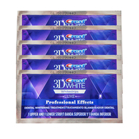 No Box Crest 3D White Luxe Whitestrips Dental Care Oral Hygiene Original Teeth Whitening 5 Pouches