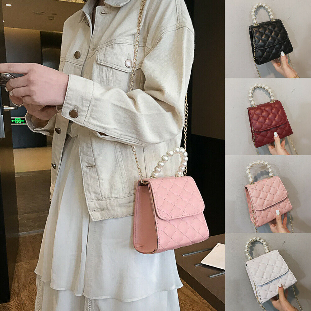 Women Shoulder Bag PU Leather Envelope Crossbody Messenger Handbag Purse New
