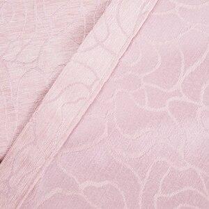 Image 5 - Pencere perde jakarlı kumaşları şönil karartma mutfak lüks perdeler kapılar yatak odası için oturma odası perdeler