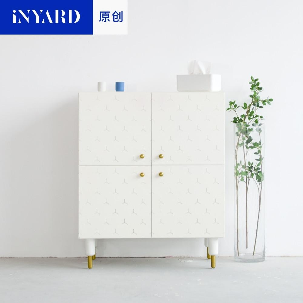 [InYard original] original, square cabinet, porch cabinet/side cabinet lockers/multi-functional collection, Nordic design