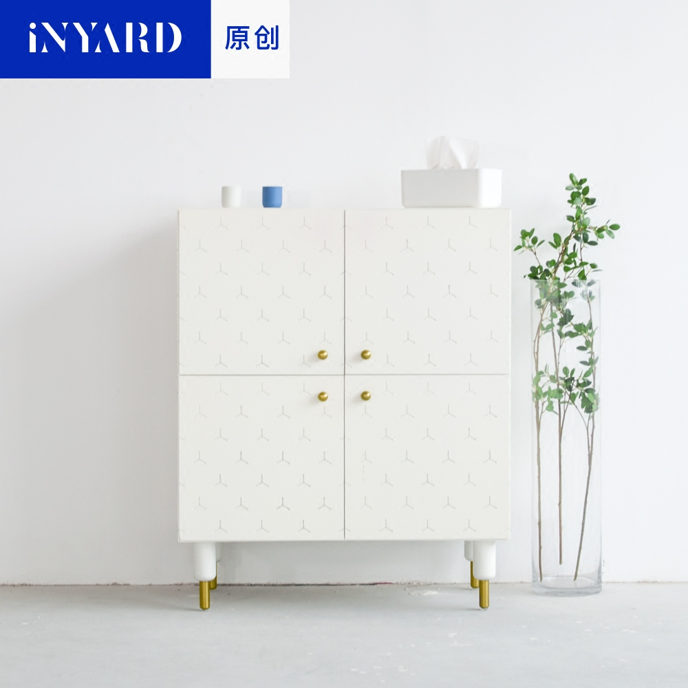 [InYard original] original, square cabinet, porch cabinet/side cabinet lockers/multi-functional collection, Nordic design original