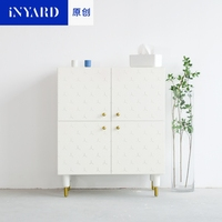 [InYard original] original, square cabinet, porch cabinet/side cabinet lockers/multi functional collection, Nordic design