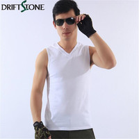 Tank Top Men Bodybuilding Fitness Cotton Military Style Top Men Shirt Vests Army Green Black Khaki