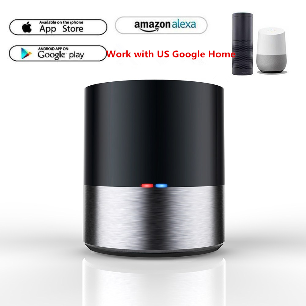 US $13 12 25% OFF|Geeklink Smart Home WIFI+IR Remote Controller for iOS  Android APP Voice Control for USA Alexa USA Google Home Automation-in Home