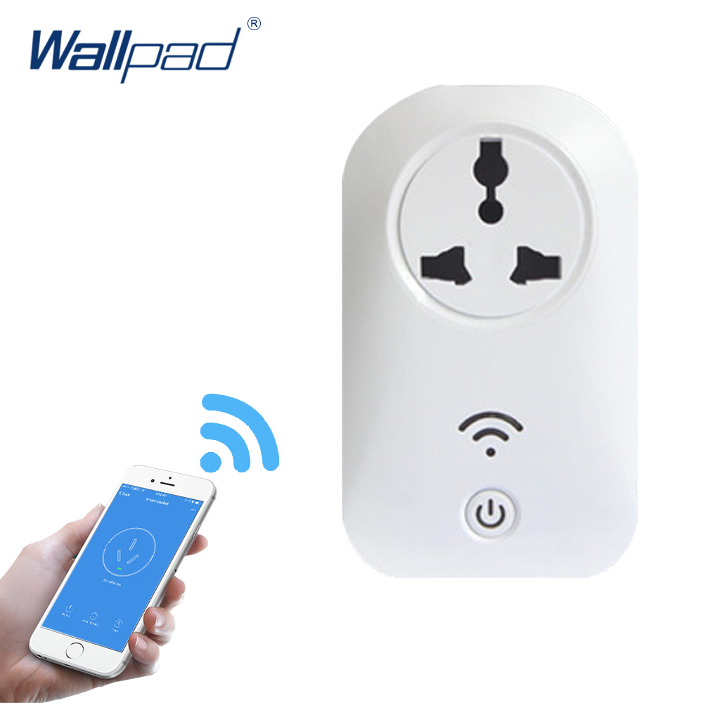 2018 Hot Sale Wifi Socket 10A+Timer Universal Socket Plug Outlet Smart Home Remote Wireless Controls for Iphone Ipad Android Ios
