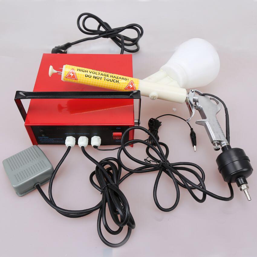 Powder Coating System Metal workpiece spray machine DIY Electrostatic spray gun 110V/220V wx 958 electrostatic powder coating machine wx 958 electrostatic spray powder coating machine spraying gun paint