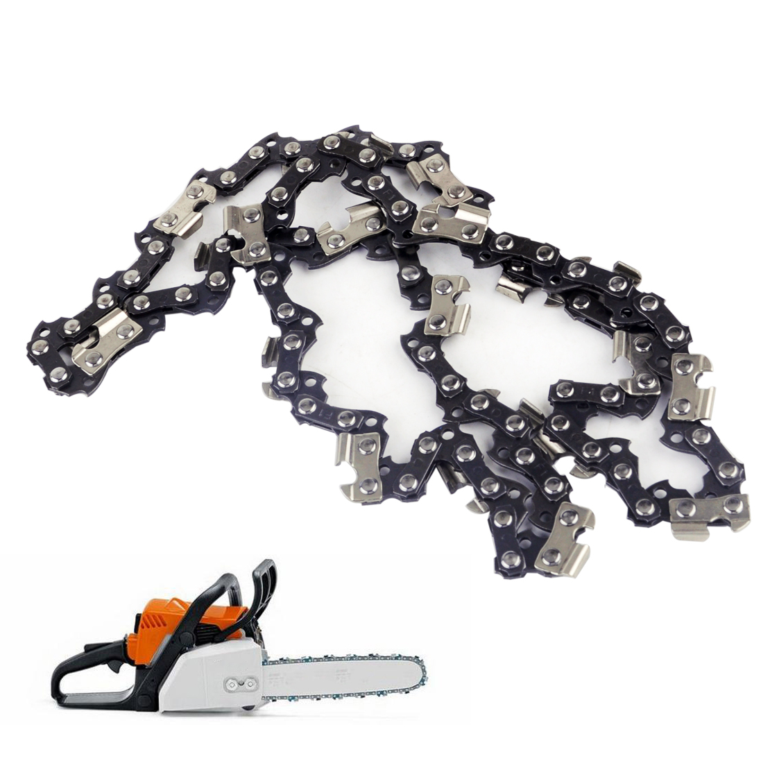 LETAOSK New Chainsaw Saw Chain 3/8″ .050″ 44DL Fit for STIHL MS170 MS180 MS181 MS190 MS210