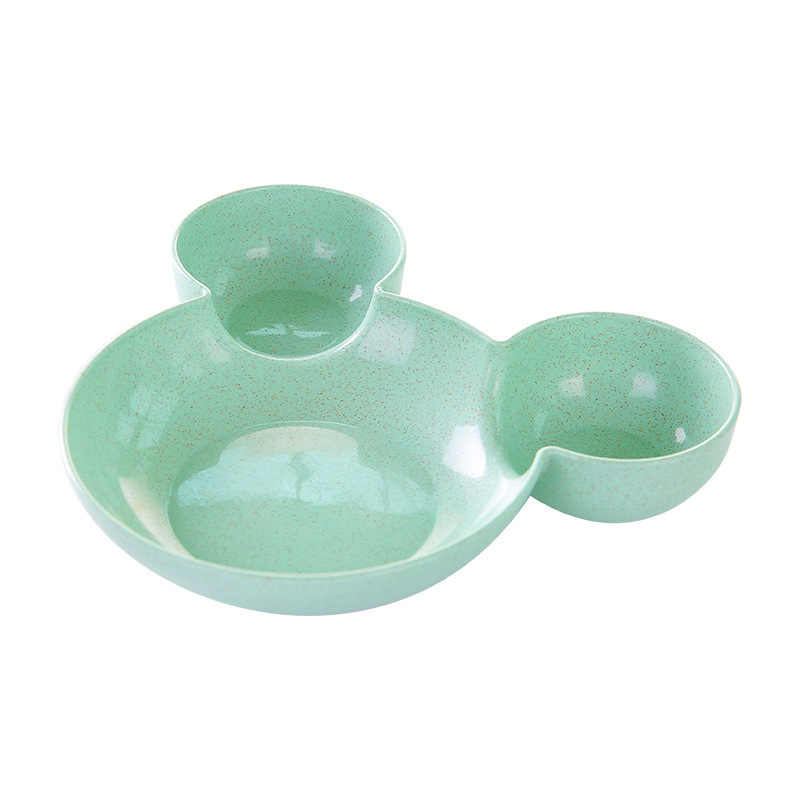 Мультфильм чашка для кормления малыша пшеничной соломы детская рисовая чаша милый тарелка Дети Детские еда посуда