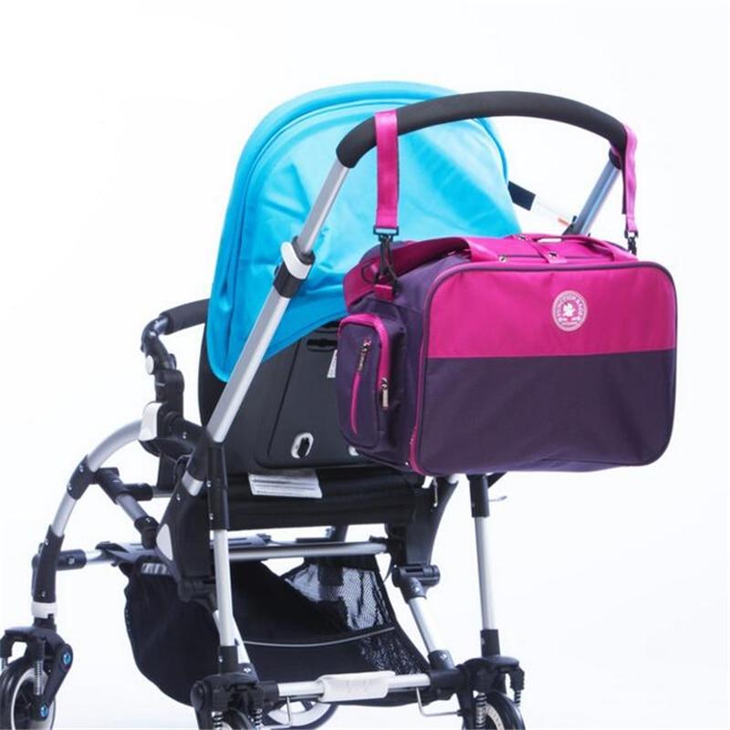 ФОТО 4pcs set Mommy Diaper Bag Large Capacity Multi-functional Maternity Bag Set Pregnant Women Backpack Baby Diaper Bag Patchwork