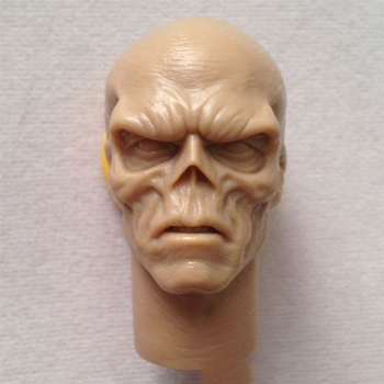 цена на 1/6 Scale Red Skull Smith Hugo Vivian Unpainted Male Head Sculpt For 12