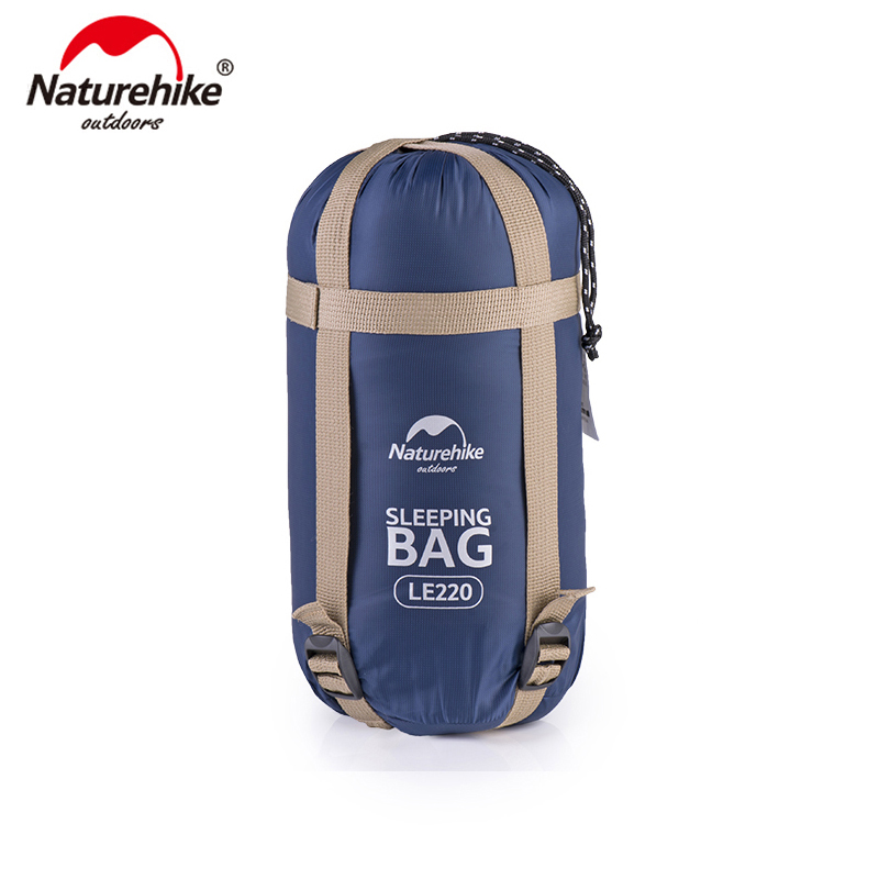 Naturehike 190*75cm Coral Velvet Envelope Sleeping Bag Ultralight For Hiking Camping Traveling NH17S015 S