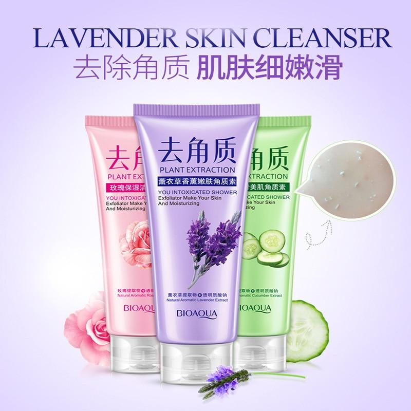 Facial Cleanser Natural Facial Exfoliation Exfoliating Peeling