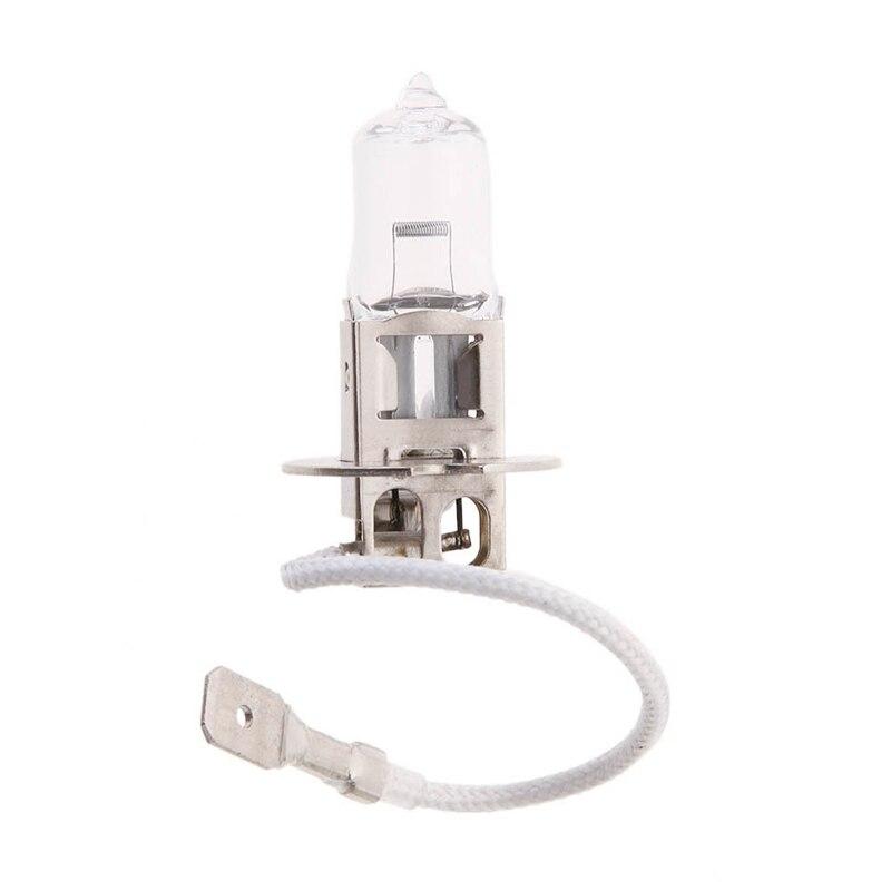 H3 Halogen Auto Car Fog Lamp Bulb 12V 55W Xenon Bright Quartz Glass Automobiles Fog Light Foglight Automovil Accessories