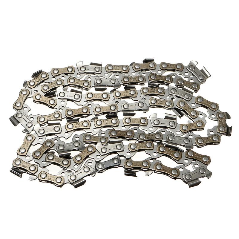 Heimwerker Einfach Metall Kettensäge Kette Klinge 56 Abschnitt 3/8 lp Sah Kette Zubehör Für Generische Durable Qualität Kettensäge Kette Klinge Warm Und Winddicht