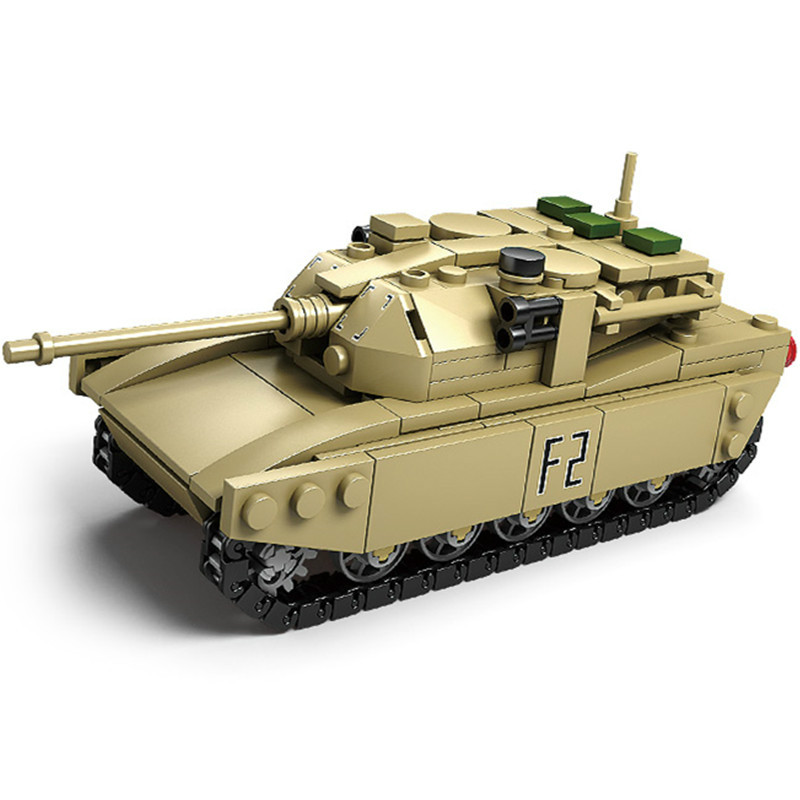 NEW 325Pcs M1A2 Abrams Tanks Assembled Model Building Blocks Model Bricks Comaptible Lepins & KAZI Educational Toys for Chidren