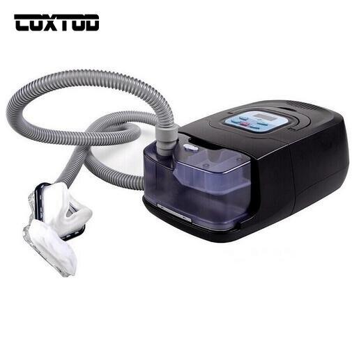 Coxtod GI Авто CPAP Машина для сна храпа и апноэ терапии Электрический дома Средства ухода за мотоциклом прибор с увлажнитель носовой маски