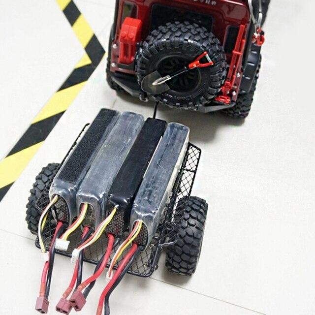 Metal Trailer Bucket Rc Car Trailer Diy For Trx4 Trx-4 1/10 D90 Scx10 Cc01 Diy