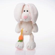 все цены на 25/35/50 Cm Soft Rabbit Plush Toy Stuffed Adorable Bunny Cute Rabbit Decent Placating Bed Doll Birthday Gift For Kids онлайн
