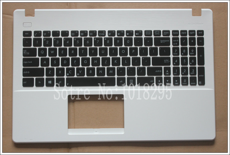 NEW For Asus X551 X551C X551M X551S English Laptop keyboard White shell