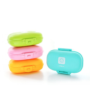Image 3 - 5PCS Travel Soap Dish Box Case Holder Hygienic Easy To Carry Soap Box Home Bathroom Shower Travel Hiking Holder Container Box