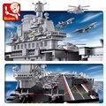 Sluban Blocks 0388 Technic  авианосцы  совместимые с LGSet  наборы подводных лодок  строительные блоки для корабля  игрушки  подарки