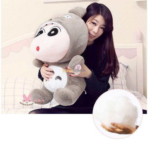 Fancytrader 31\'\' 78cm Giant  Funny Stuffed Soft Plush Totoro Crayon Shin-chan, Free Shipping FT50395 (5)