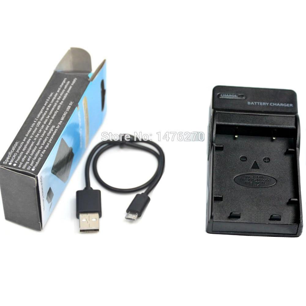 Micro-USB Cargador para Konica Digital Revio KD-500Z KD-510Z