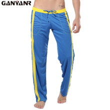 GANYANR Brand Running Pants Men Winter Fitness Crossfit Traning Sports Jogger Long Winter Trousers Athletic Loose Jogging Gym