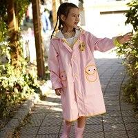 Plastic Raincoat Kids For Children Rain Poncho Sets Cloak Impermeables Cape De Chuva Layer Waterproof Raincoat