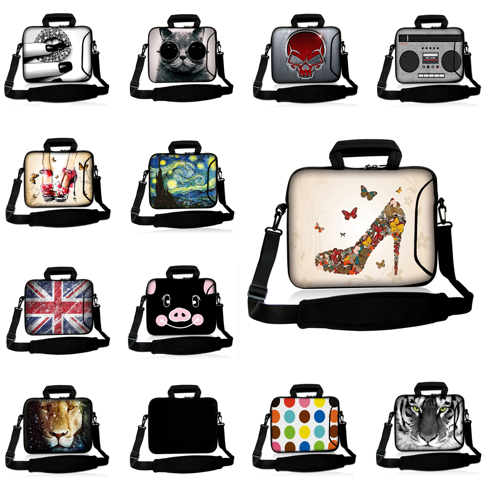 2017 Newest Messenger Handbag Laptop Cases 14 13 12 10 15 17 16.8 13.3 14.1 17.3 15.6 In ...