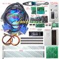 Kits Electrónicos LCD RT809F Programador ISP VGA Universal EPROM FLASH AVR GAL PIC Programmer + tarjeta de Expansión + FFC PEB-1 línea