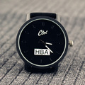 New HBA Men Watch Luxury Brand Pilot Aviator Army Style Dial Casual Fabric Band Business Sport Quartz Men Military Watch OP001