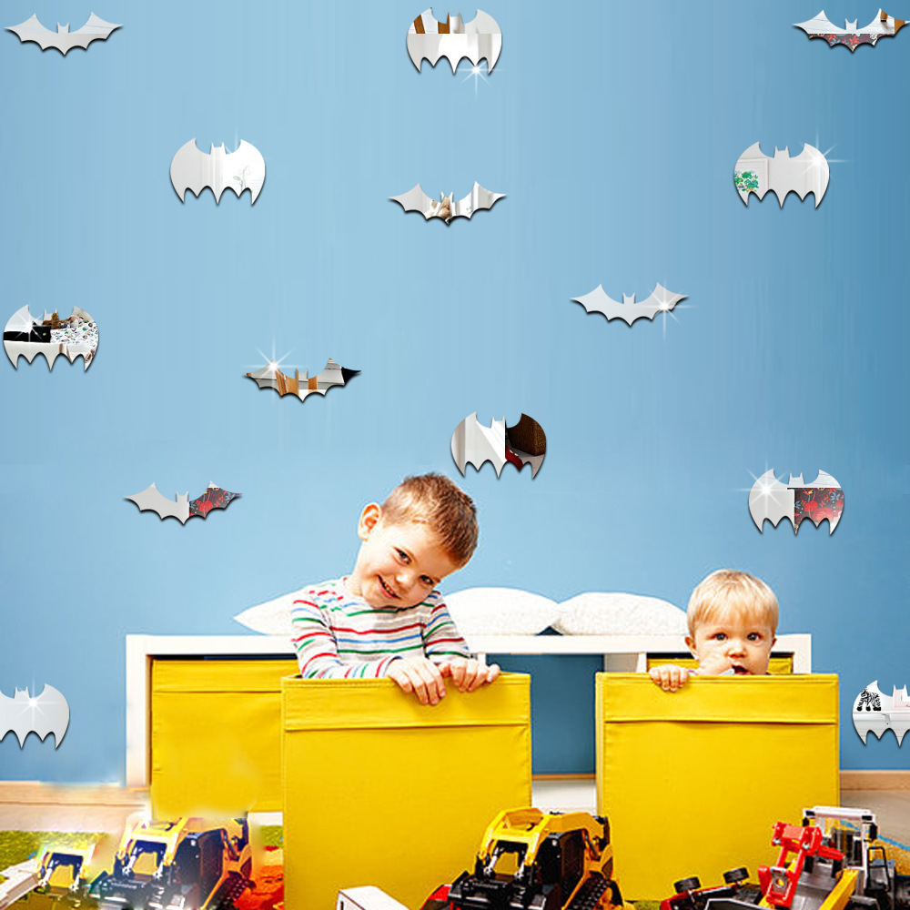 Download Wallpaper Halloween Batman - Halloween-Batman-3D-Wallpaper-Mirror-Acrylic-Wall-Stickers-Self-adhesive-Kids-Room-Kindergarten-TV-wallsMarine-Bats  Photograph_594299.jpg
