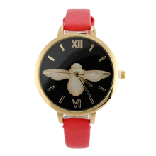 Fashion Leather Watch Relogio Feminino  Big Bee Watches Women Quartz Wrist Watch Clock Sport Waterprooof Student Watch Gifts