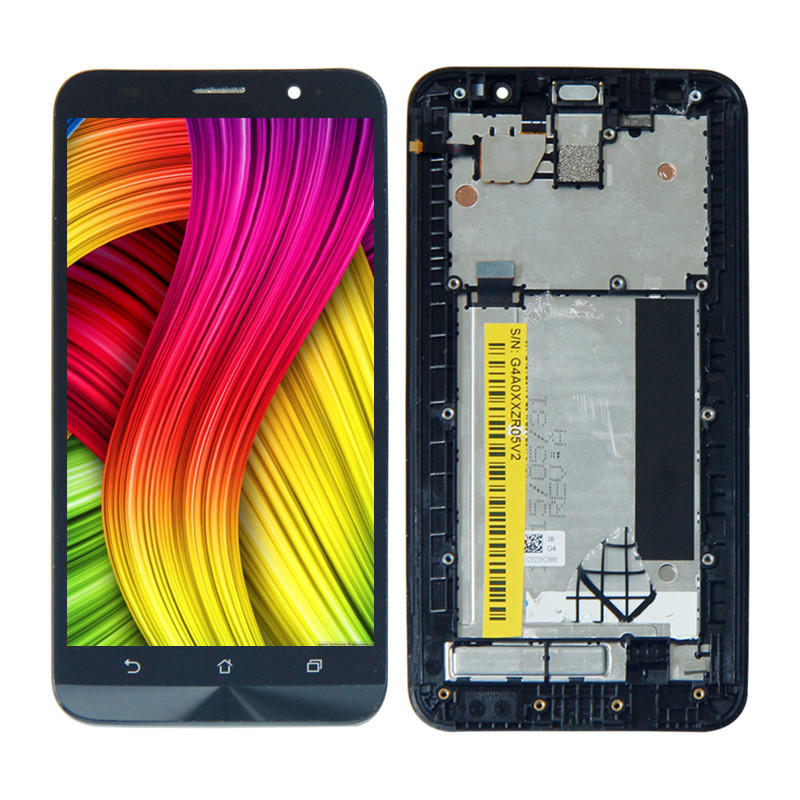 For Asus Z00AD Zenfone 2 ZE551ML LCD Display Panel Touch Screen Digitizer Sensor Assembly + Frame 1920*1080 Free ToolsFor Asus Z00AD Zenfone 2 ZE551ML LCD Display Panel Touch Screen Digitizer Sensor Assembly + Frame 1920*1080 Free Tools