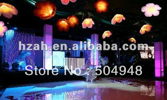 Decorative Lighting Inflatable Flowers For Stage/Party цена