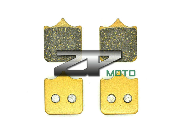 NAO Brake Pads For APRILIA RSV 1000 R Facton/R (Radial Mount Caliper) 2002-2010 Front OEM New High Quality nao for all we know neon yellow