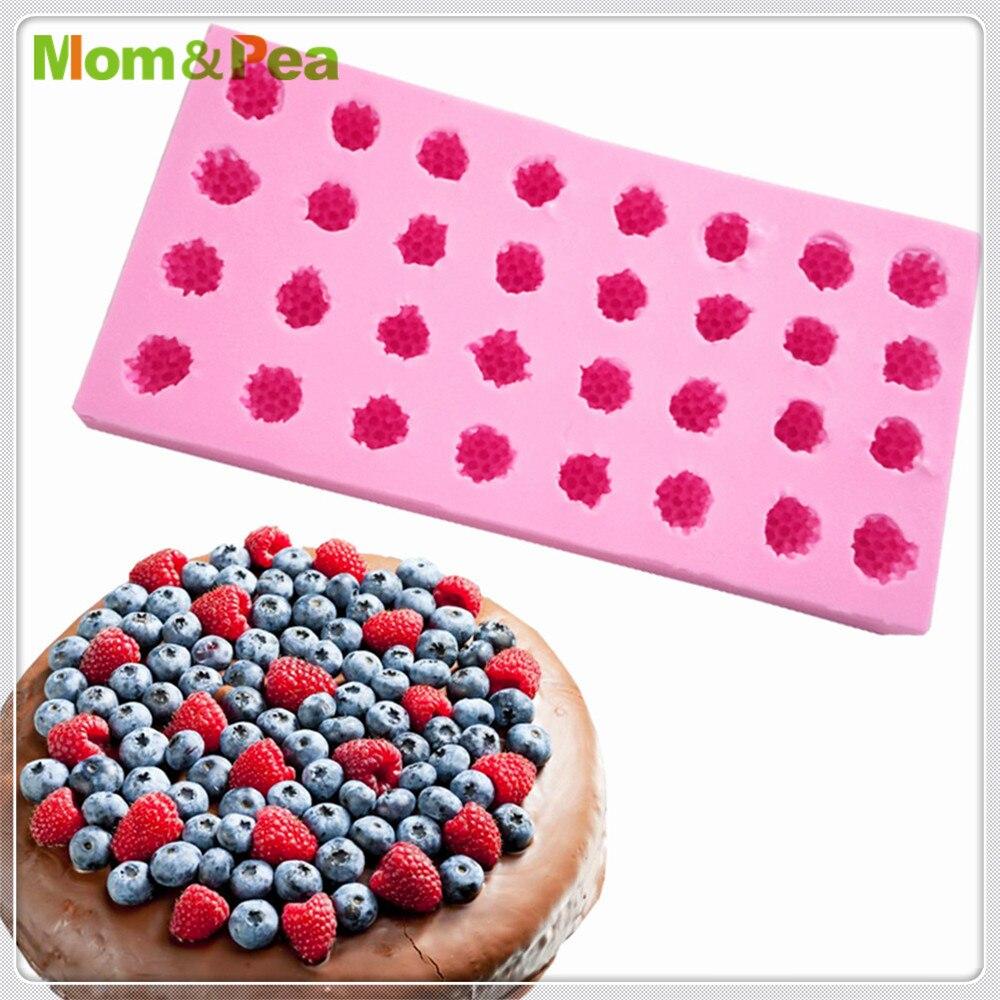 Mmam & Pea MPA2000 Raspberry силиконовая форма для украшения торта, помадки, 3D форма для пищевых продуктов