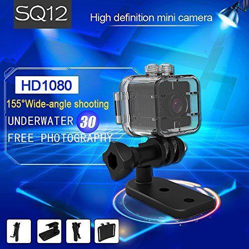 16 GB carte + SQ12 Full HD 1080 P Mini caméra IR Vision nocturne DV DVR caméra caméscope