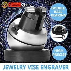 Standaard Block Ball Vise Gravure Instelling Tool Ingelegd Diamanten Volledige Set Met 30 St Attachment
