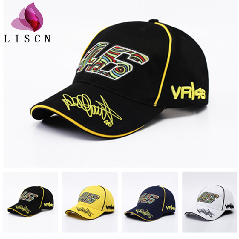 New 2019 Fashion Summer Pop   Baseball     Cap   Embroidery 46 Sun Dad Hat for Men Women MotoGP Outdoor Motorcycle F1 Racing Car Gorras