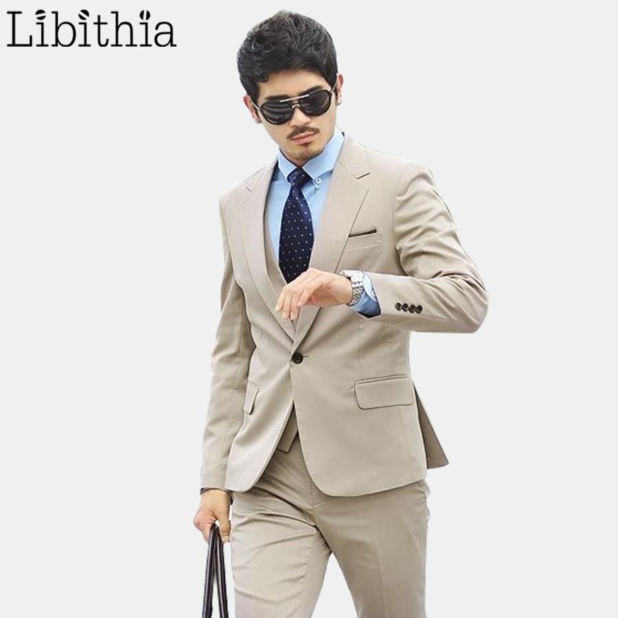 Aliexpress Buy Jacket Pant Tie Mens Formal Suits Work Wedding Suits For Men Costume
