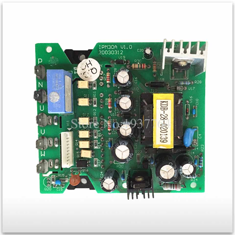 for Air conditioning Frequency conversion module board IPM30A V1.0 used board good working frequency inverter air conditioner module board ipm201 e225877 52e8 used disassemble