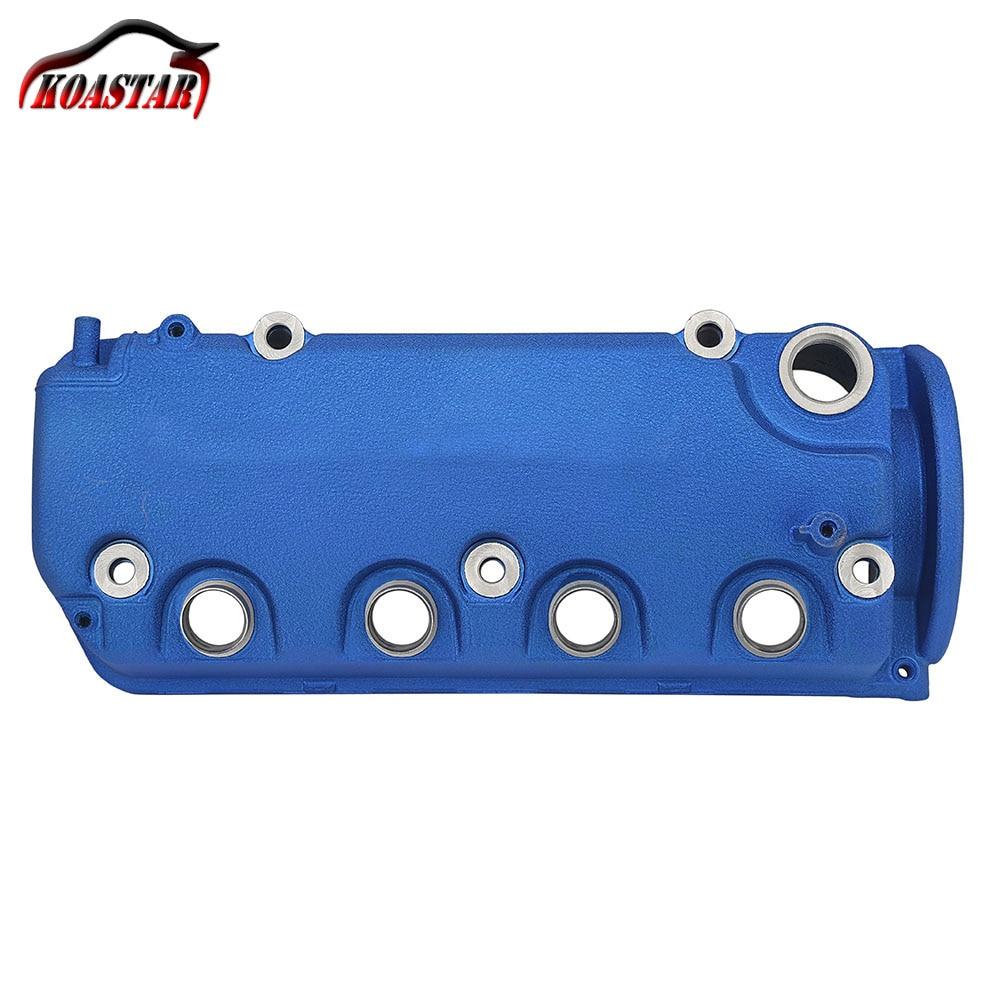 For Honda VTEC DOHC D Series Engine D15 D16Z6 D16Y8 Red Blue Engine Valve Cover Aluminum Matte Finished Engine Valve Cover