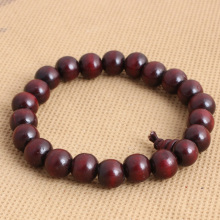 10mm Ethnic Jewelry Sandalwood Bracelet Prayer Beads Rosary Buddhist Buddha Meditation Bracelet Men's Fashion Accessories 8AA054